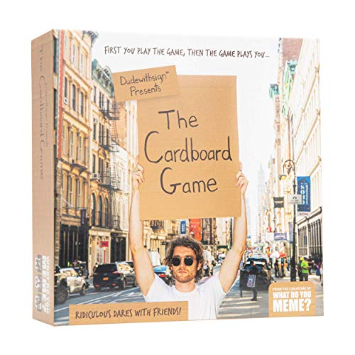 The Cardboard Game – The Party Game of Ridiculous Dares & Challenges with Friends