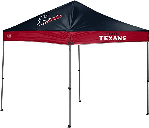 Houston Texans Instant Pop-Up 9'x9' Canopy Tent with Carrying Case
