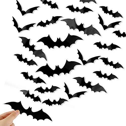 Black Spooky Bats