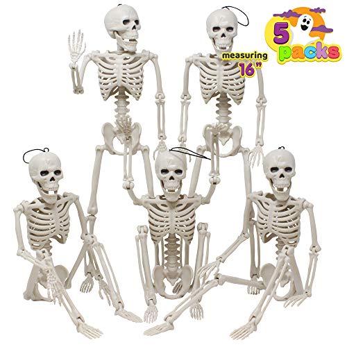 Posable Halloween Skeletons