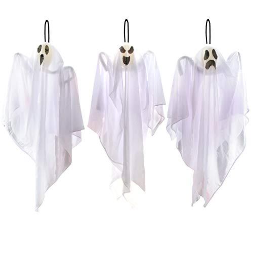 Cute Flying Ghosts