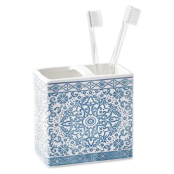 Capri Medallion Toothbrush Holder