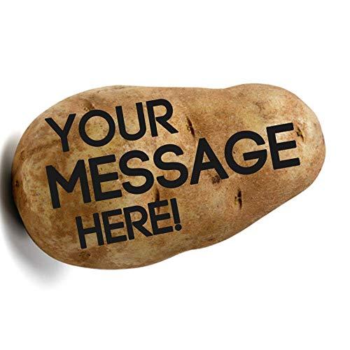 Potato Parcel - Send a message on a real potato!