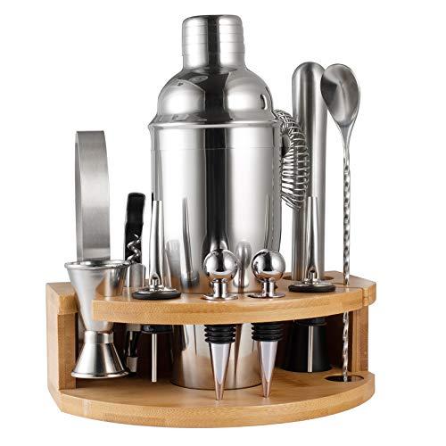 BestFire Cocktail Shaker Set Bartender Kit