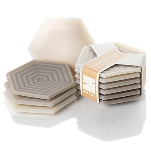 Set of 6 Degrē Coasters (Sandstone) by LINE+ARC