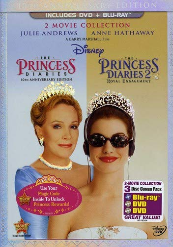 The Princess Diaries: 2 Movie Collection (BLU-RAY + DVD)