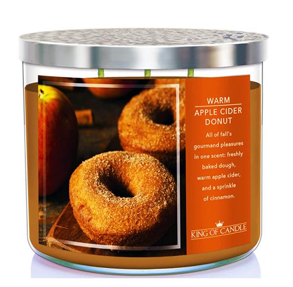Warm Apple Cider Donut Candle