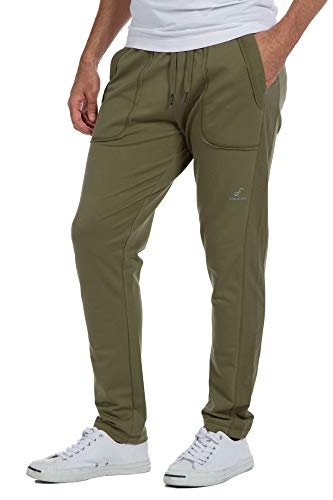 Ably Leisure Men's Sweatpants | Repels Liquids, Stains, and Odors