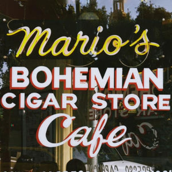 Mario's Bohemian Cigar Store and Cafe To Go