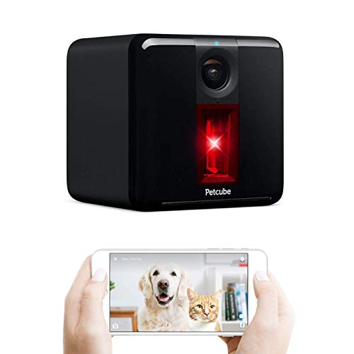 Petcube Smart Pet Camera with Interactive Laser Toy