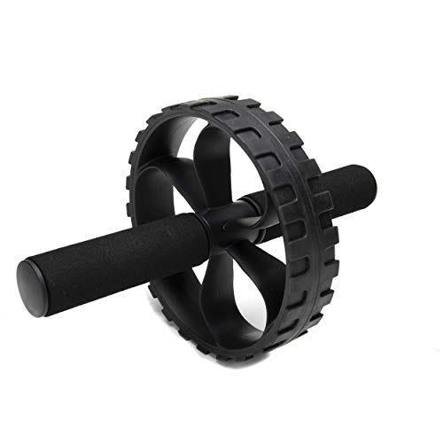 Mind Reader Abdominal Roller Wheel with Foam Grips