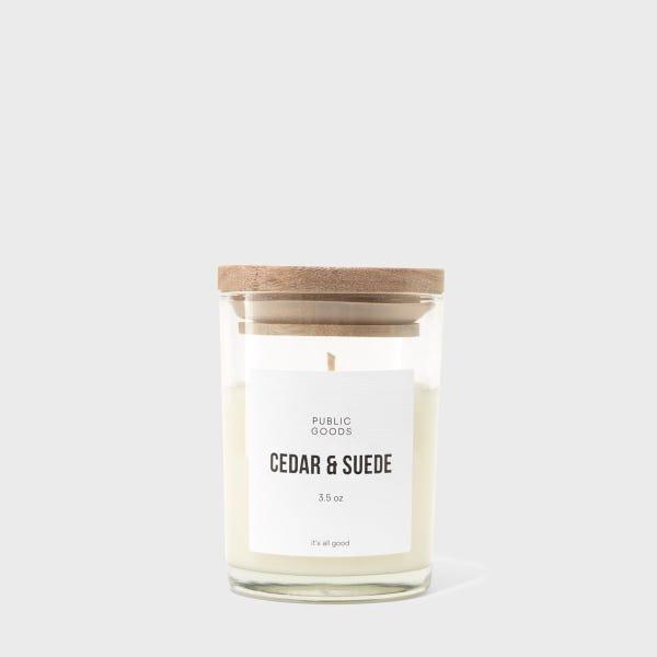 Cedar & Suede Soy Candle