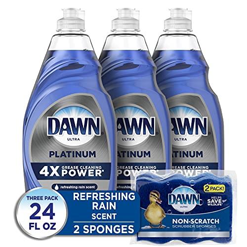 Dawn Dish Soap Platinum Dishwashing Liquid