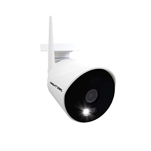 Night Owl AC Powered 1080p HD Wi-Fi IP Indoor/Outdoor Camera with 100 ft. of Night Vision