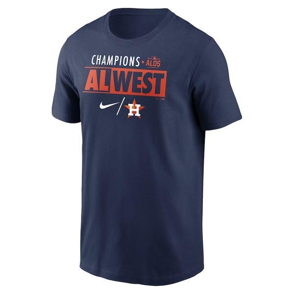 Men's Astros 2021 AL West Division Champions T-Shirt