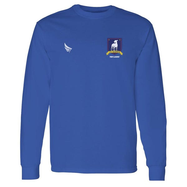 Ted Lasso A.F.C. Richmond Crest Adult Long Sleeve T-Shirt