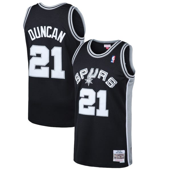 San Antonio Spurs Tim Duncan Jersey