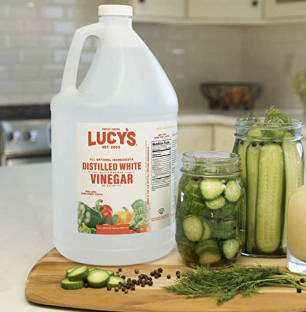 Lucy's Family Owned - Natural Distilled White Vinegar
