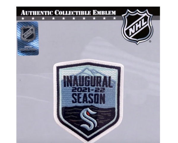 Seattle Kraken Fanatics Authentic 2021-22 Inaugural Season National Emblem Jersey Patch