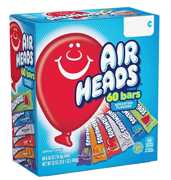 Airhead Candy Bars - 60 Bars