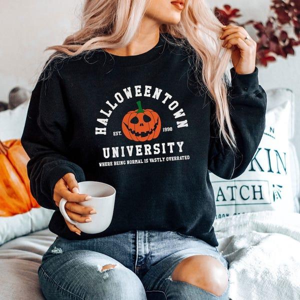 Halloween School Sweatshirt Halloweentown University Sweater