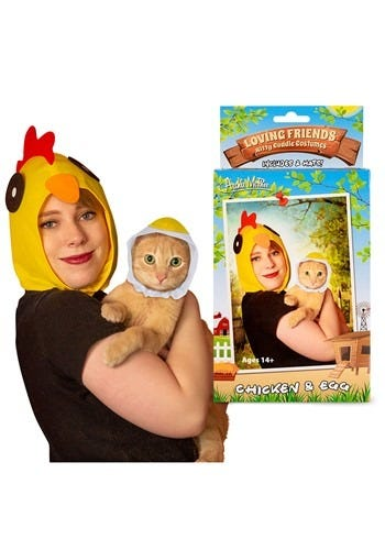 Chicken and the Egg Owner & Pet Costume Kit