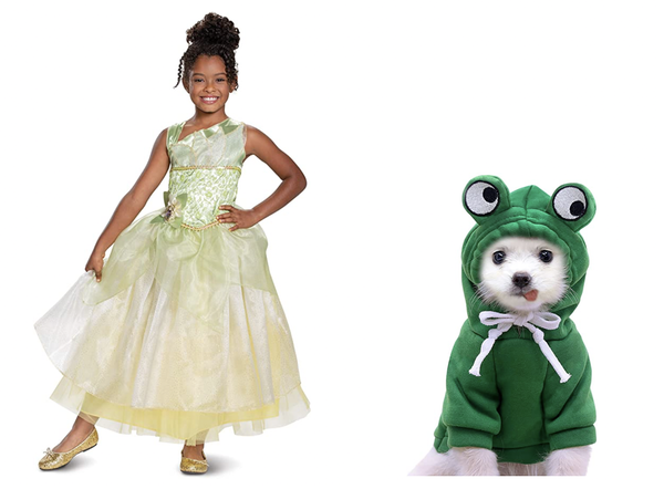 Puppy Frog Costume