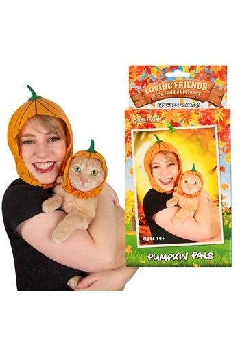 Owner & Pet Pumpkin Pals Costume Kit