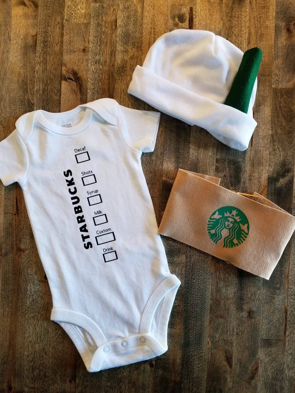 Hot Coffee Cup Costume for Baby Adorable hot cup with
