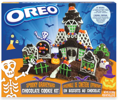 Oreo® Spooky Graveyard Chocolate Cookie Kit