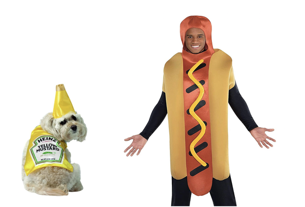 Cat & Dog Heinz Mustard Costume