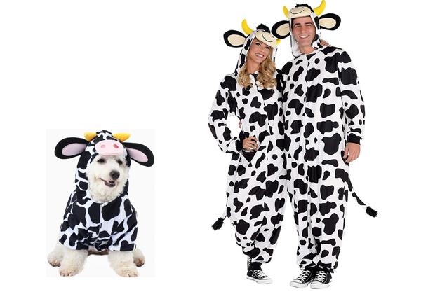 Cow Pet Halloween Costume